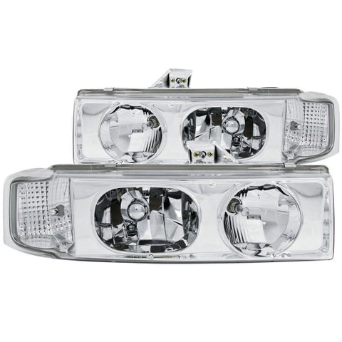 Anzo Headlights - Chrome 111001 ANZO111001