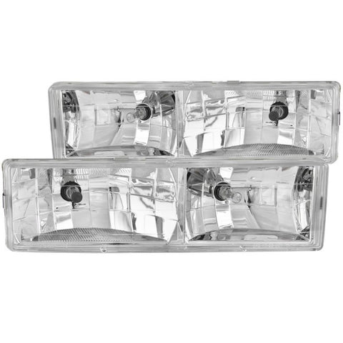 Anzo Headlights - Chrome 111004 ANZO111004
