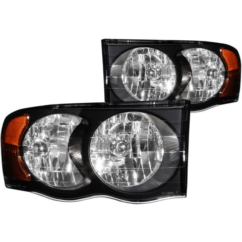 Anzo Headlights - Crystal Black 111022 ANZO111022