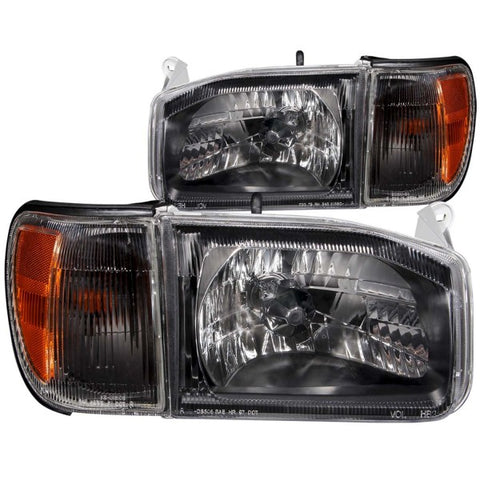 Anzo Headlights - Black 111051 ANZO111051
