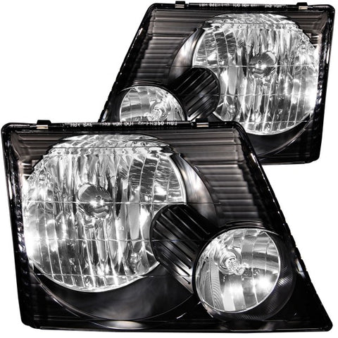 Anzo Headlights - Black 111058 ANZO111058