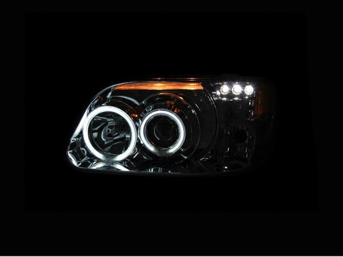 Anzo Headlights - Chrome w/Amber Reflectors 111133 ANZO111133