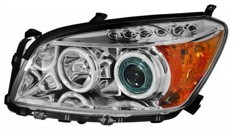 Anzo Headlights - Chrome w/Amber Reflectors 111180 ANZO111180