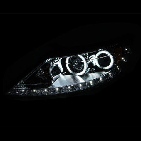 Anzo Headlights - Chrome w/ Amber Reflectors 111267 ANZO111267