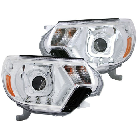 Anzo Headlights - Chrome w/ Amber Reflectors 111289 ANZO111289