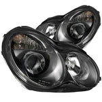 Anzo Headlights - Black 121079 ANZO121079