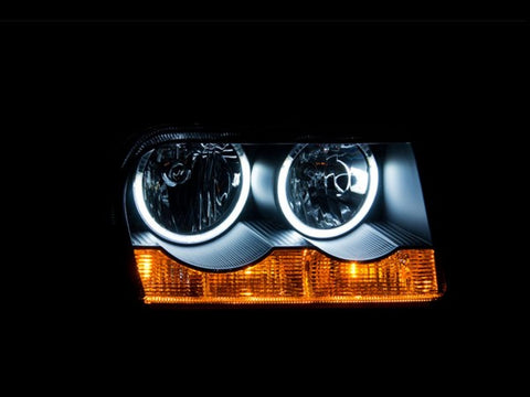 Anzo Headlights - Black 121138 ANZO121138