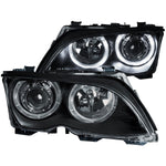 Anzo Headlights - Black 121140 ANZO121140