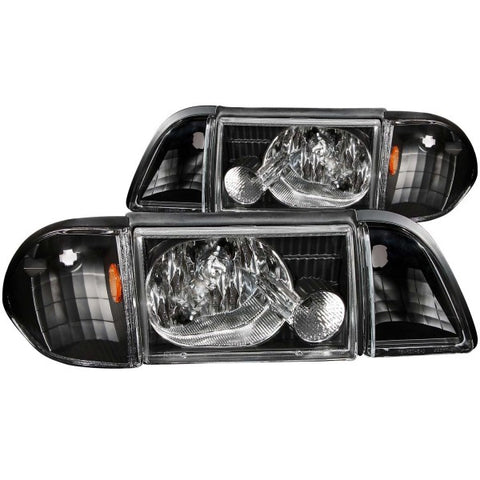 Anzo Headlights - Black 121192 ANZO121192