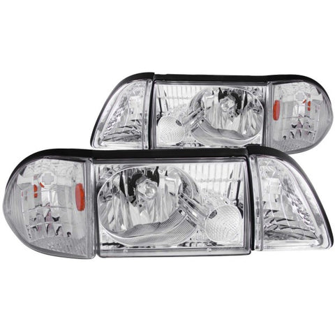 Anzo Headlights - Chrome 121195 ANZO121195