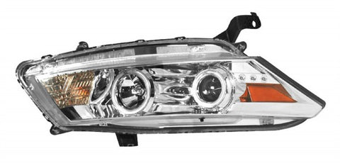 Anzo Headlights - Chrome w/Amber Reflectors 121249 ANZO121249