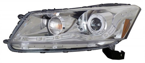 Anzo Headlights - Chrome w/Amber Reflectors 121253 ANZO121253