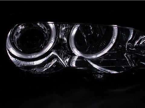 Anzo Headlights - Chrome w/Amber Reflector 121268 ANZO121268