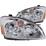 Anzo Headlights - Chrome; w/Amber Reflectors; 121294 ANZO121294