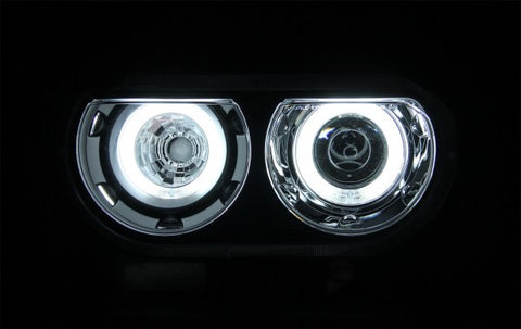 Anzo Headlights - Black 121306 ANZO121306