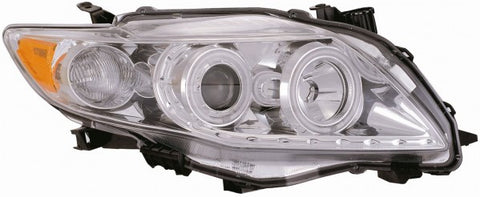 Anzo Headlights - Chrome w/Amber Reflector 121309 ANZO121309