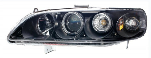 Anzo Headlights - Black 121351 ANZO121351
