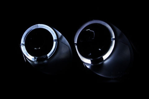 Anzo Headlights - Black 121357 ANZO121357