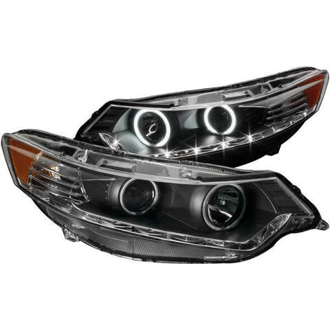 Anzo Headlights - Black 121393 ANZO121393