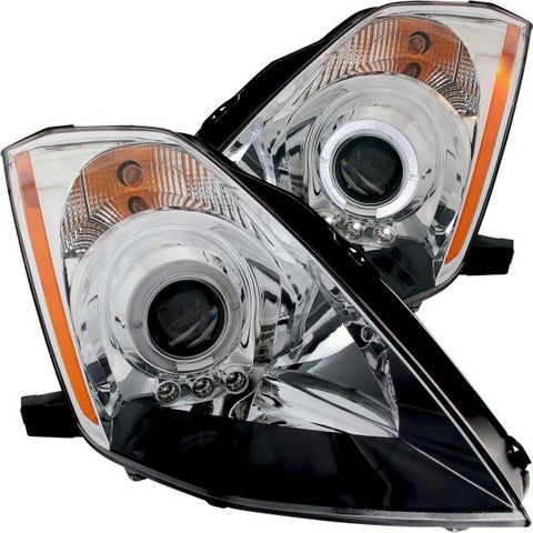 Anzo Headlights - Chrome w/Amber Reflectors 121443 ANZO121443