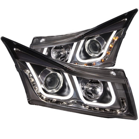 Anzo Headlights - Black 121462 ANZO121462