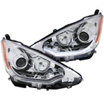 Anzo Headlights - Chrome w/Amber Reflectors 121473 ANZO121473