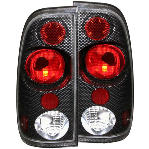 Anzo Tail Lights - Carbon 211064 ANZO211064