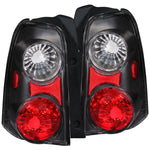 Anzo Tail Lights - Black 211078 ANZO211078