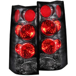 Anzo Tail Lights - Black 211090 ANZO211090