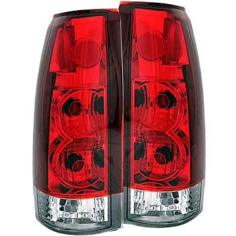 Anzo Tail Lights - Red/Clear 211140 ANZO211140
