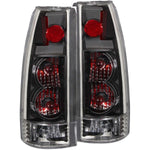 Anzo Tail Lights - Black Clear 211144 ANZO211144