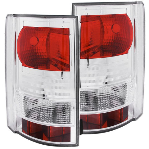 Anzo Tail Lights - Red/Clear 211151 ANZO211151