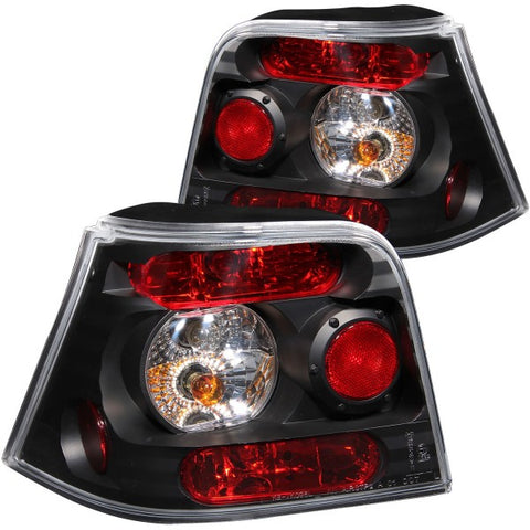 Anzo Tail Lights - Black 221124 ANZO221124