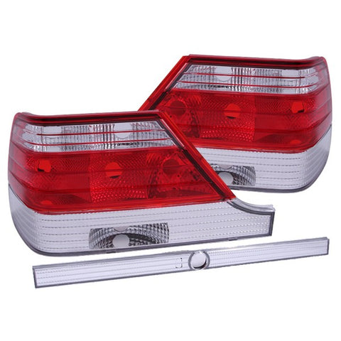 Anzo Tail Lights - Red/Clear 221153 ANZO221153