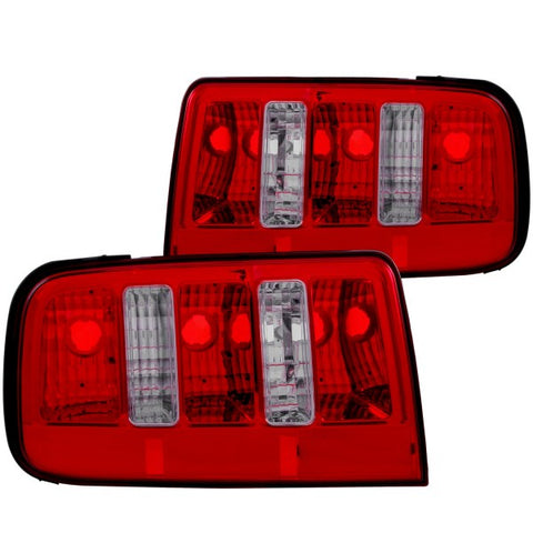 Anzo Tail Lights - Red/Clear 221166 ANZO221166