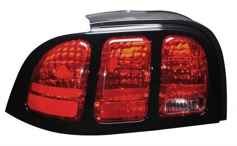 Anzo Tail Lights - Red/Clear 221167 ANZO221167