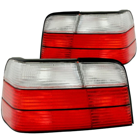 Anzo Tail Lights - Red/Clear 221216 ANZO221216