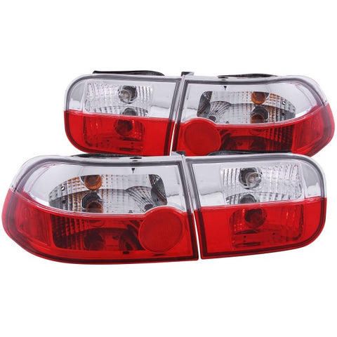 Anzo Tail Lights - Red/Clear 221220 ANZO221220