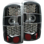 Anzo LED Tail Lights - Black 311003 ANZO311003