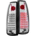 Anzo LED Tail Lights - Chrome 311005 ANZO311005