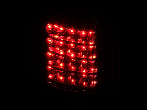 Anzo LED Tail Lights - Black 311015 ANZO311015