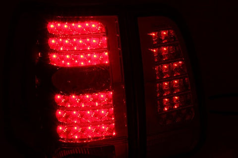 Anzo LED Tail Lights - Red/Clear 311076 ANZO311076
