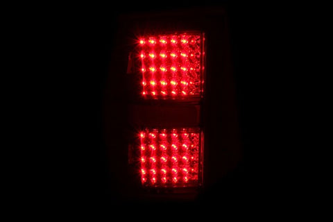 Anzo LED Tail Lights - Black 311090 ANZO311090