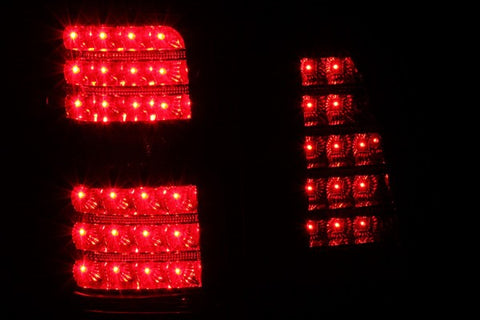 Anzo LED Tail Lights - Black 311097 ANZO311097