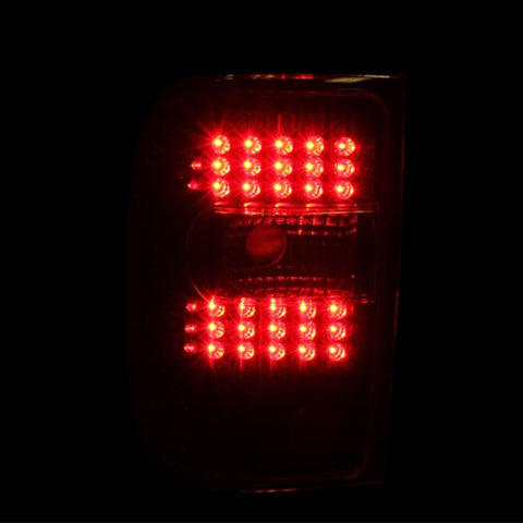 Anzo LED Tail Lights - Black 311107 ANZO311107