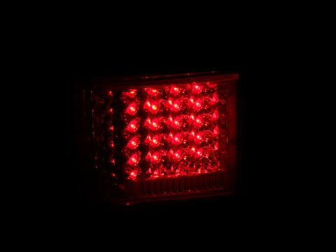 Anzo LED Tail Lights - Red/Clear 311108 ANZO311108