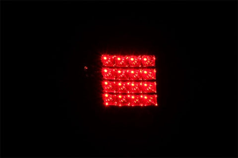 Anzo LED Tail Lights - Black 311125 ANZO311125