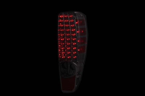 Anzo LED Tail Lights - Red/Smoke 311137 ANZO311137