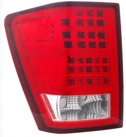 Anzo LED Tail Lights - Red/Clear 311149 ANZO311149