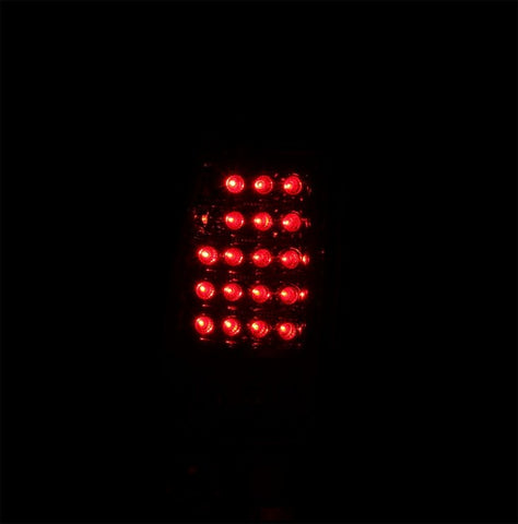 Anzo LED Tail Lights - Smoke 311161 ANZO311161